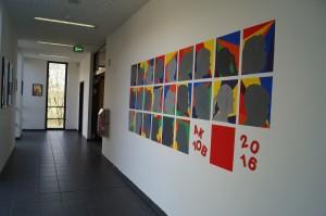 Wandgestaltung der 10.Klasse